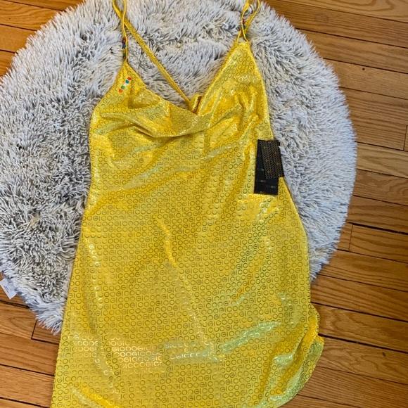 COOGI Other - COOGI yellow mini dress NWT